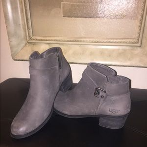 UGG ankle boots.